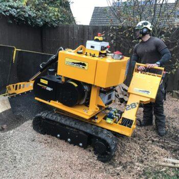 Stump Grinding Machine in London