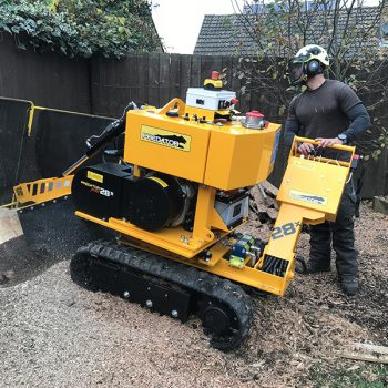 Stump Grinding Machine in London
